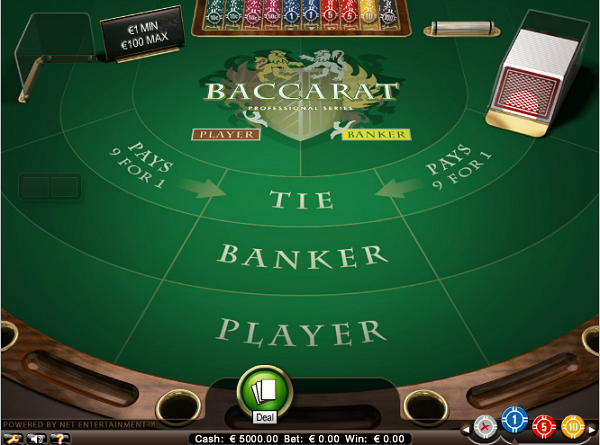 Live Baccarat in Nederlands casino