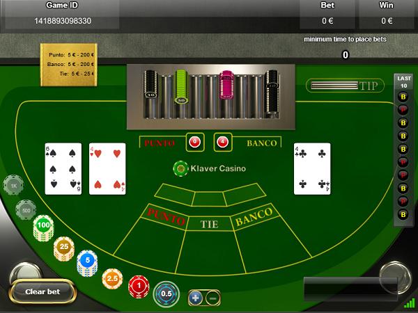 punto banco live casino tafelspel