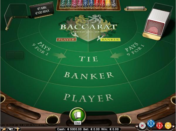 Live Baccarat in Nederlands casino